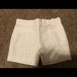 Janie and Jack 18-24 months white shorts